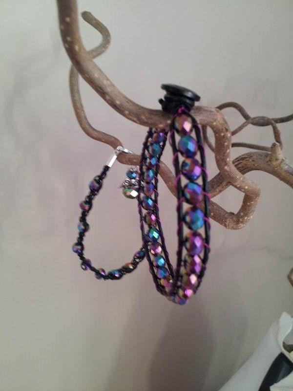 multicolor crystal bracelet