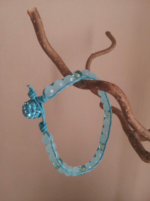 turkos wrap leather bracelet